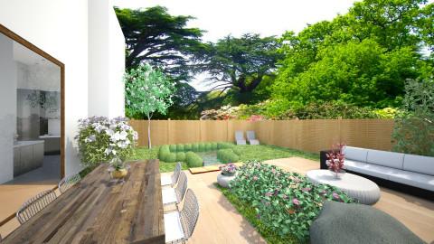 Lounge Garden - Modern - Garden  - by Saar Duyvejonck