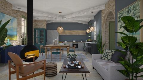 Farmhouse K Modern - Modern - Kitchen  - by janip
