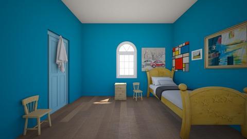 Van Gogh room - Bedroom  - by percy_jackson_geek