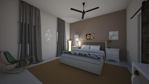 bedroom design - Rustic - Bedroom  - by Anat curran