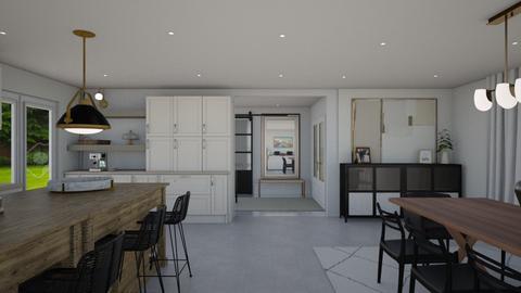 Navarro Home Final - Living room  - by karinagranado