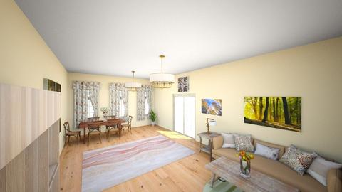 Sunny day - Modern - Living room  - by Oyisha