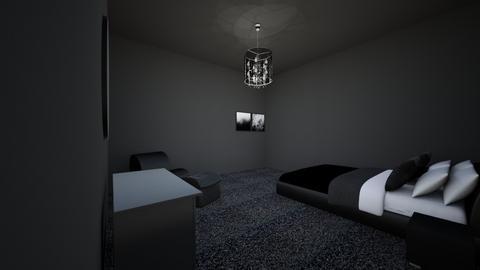 Emo Room - Bedroom  - by HufflepuffAngel