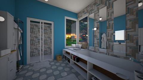 SNOWBALL - Bathroom  - by Amairany Peralta