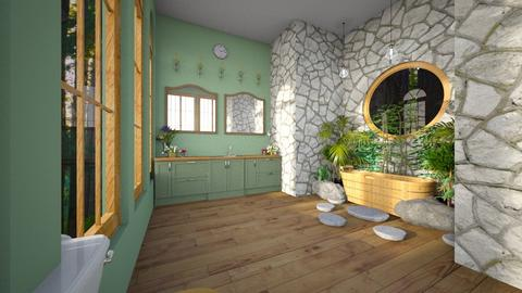 Lily Pond Bathroom - Bathroom  - by BearBear02