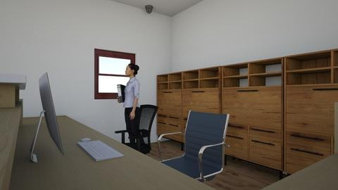 rezeption - Office  - by lilswagsmit