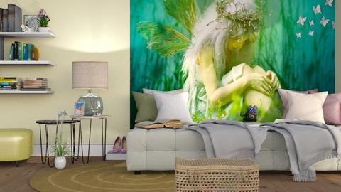 M_ Sorrow - Living room - by milyca8