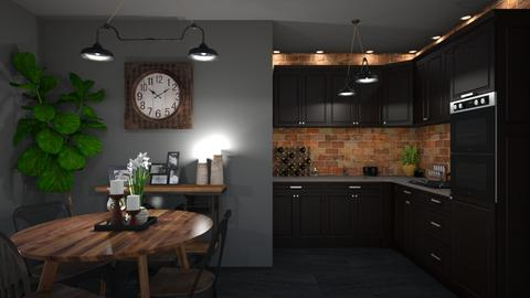 industrial - Kitchen  - by creato