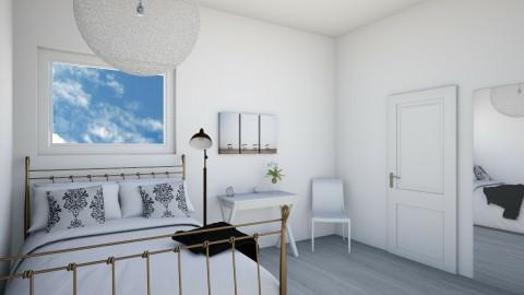 guest bedroom - Minimal - Bedroom - by skylerbrown