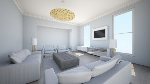 Luxury Tv Room - Living room - by Ana Mercedes