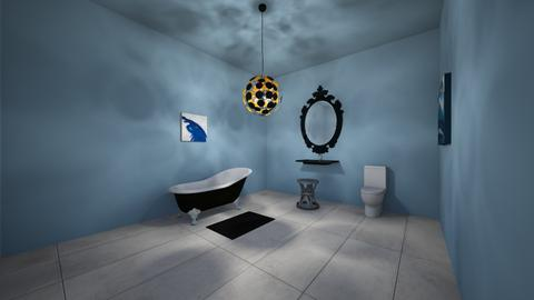 Blue - Classic - Bathroom  - by RoseGrangerWeasly