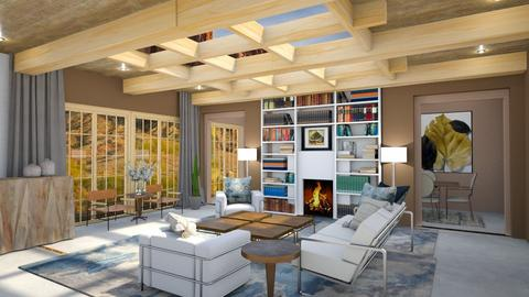 Okeefe Inspired Living Rm - Rustic - Living room - by jjp513