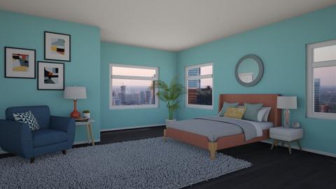 Colors - Bedroom  - by chocolatedonut71