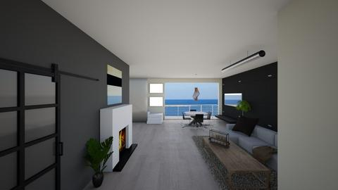 Eco Blue - Minimal - Living room  - by Tasos Omikron