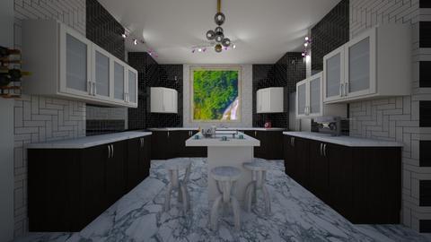 Dream Eat In - Modern - Kitchen  - by JaidenLegg