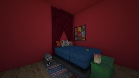 India bedroom 2  - Bedroom  - by Hippie_11