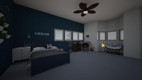 dream room  - Bedroom  - by Sabine  wren