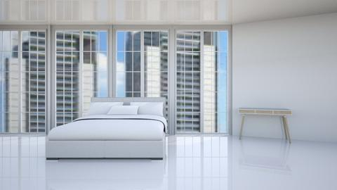 Pure white - Modern - Bedroom  - by rivkaoren