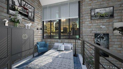 M_Br - Modern - Bedroom  - by milyca8