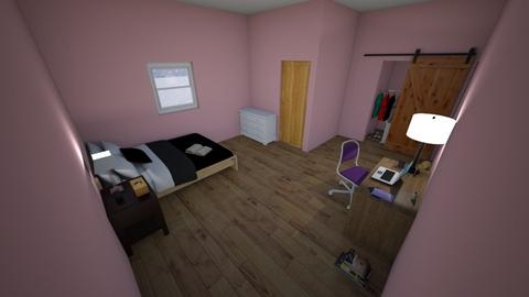 My room - Global - Bedroom  - by waffledoghaha