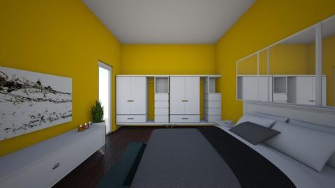 bedroom - Modern - Bedroom - by manita89