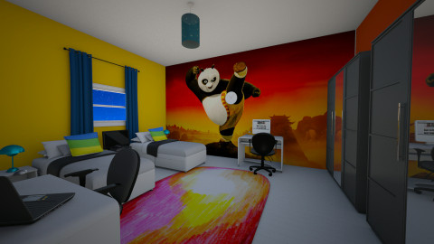 kids room KFP - Kids room  - by AhmedWael07