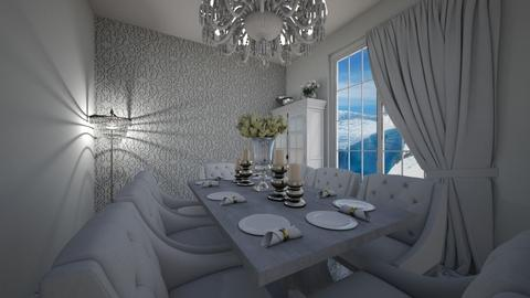Grand Diner - Glamour - Dining room  - by KittyKat28