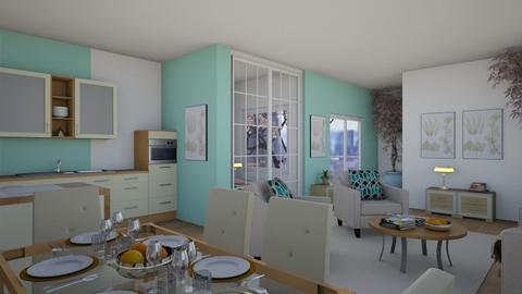 Tiny Apartment II - Modern - by millerfam