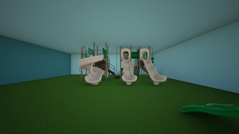 playground - Garden  - by Rosie Angus