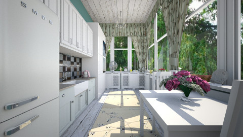 Country Kitchen - Kitchen  - by sissybee