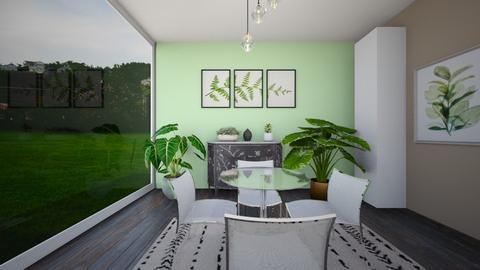 bitkimsi alan - Dining room  - by selin demiray1