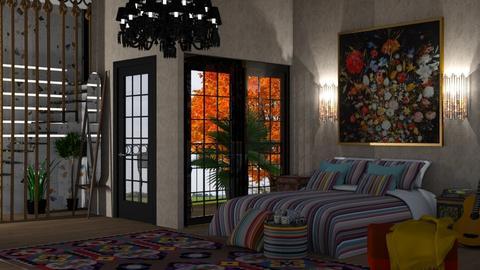 bedroom  - Bedroom  - by nat mi