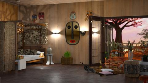 Madagascar - Modern - Kids room  - by elephant in savanna