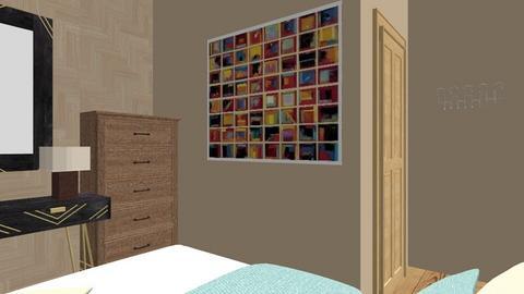 Small Bedroom Idea by DRR - Minimal - Bedroom  - by DynaRose