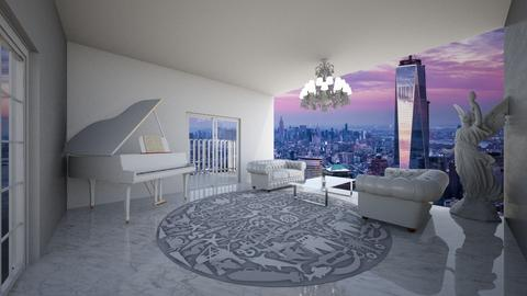 Dr No - Living room  - by Ellie DeSmith