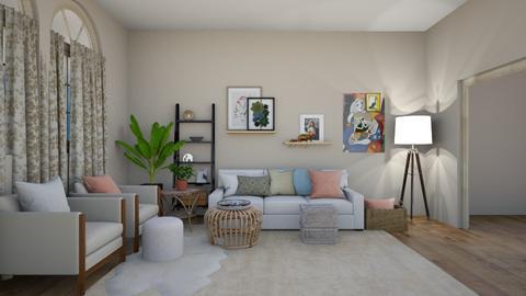 boho  - Global - Living room  - by steker2344