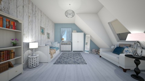 Hidden in the attic - Bedroom - by CarolinaB