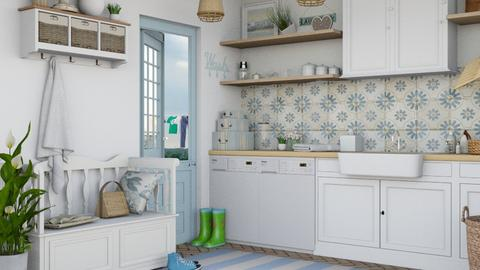 Laundry - Bathroom  - by Charipis home