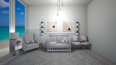 Baby Girl Room 1  - Kids room  - by Blessing Home Designer