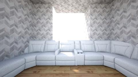 ali aziz - Living room  - by alludhalawe