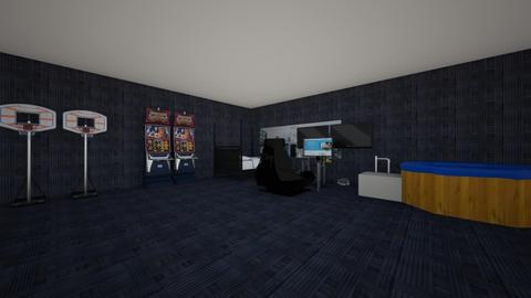 My Gaming Room - Bedroom  - by lil_Beast
