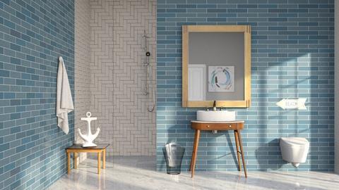 Nautical - Bathroom  - by CitrusSunrise