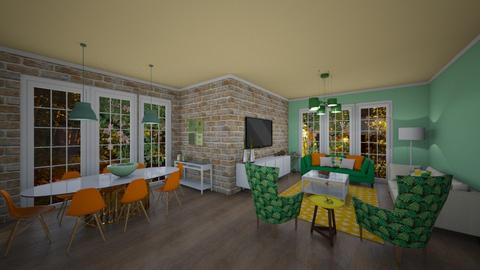 greenland - Country - Living room  - by nuray kalkan