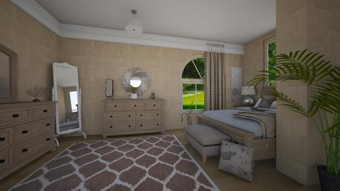 Neutral - Classic - Bedroom  - by haileymilby