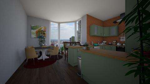 kitchen 01 - Kitchen - by dindayudvina