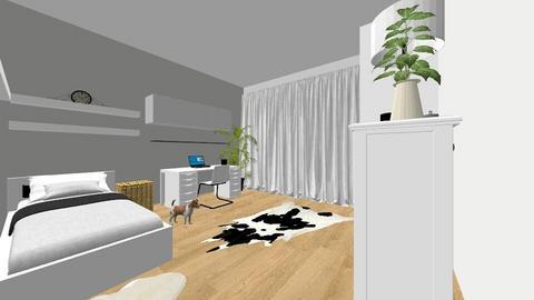 Costescu Ilinca Bedroom - Minimal - Bedroom  - by Ilinca Doria