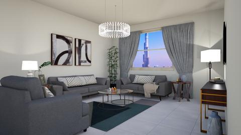 living room d - Living room  - by elhamsal24