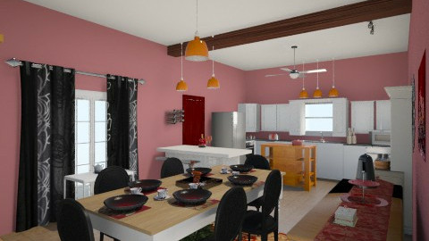 mb's Kitchen Dream - Eclectic - Kitchen  - by Marybeth Mizell