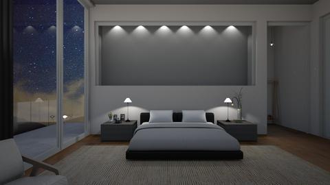Night Sky Bedroom - by jafta