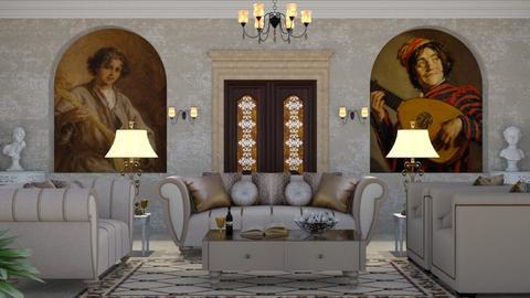 romance - Living room  - by nat mi